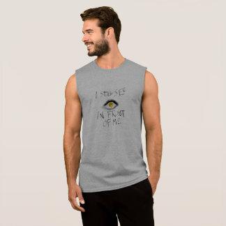 T-shirt Sans Manches Aucun poème lyrique de coïncidence