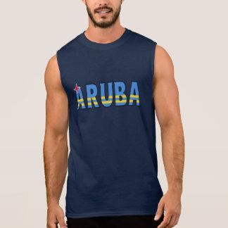 T-shirt Sans Manches Chemise d'Aruba