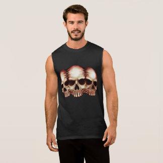 T-shirt Sans Manches Chemise de crânes