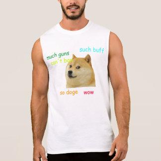 T-shirt Sans Manches Chemise de doge