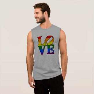 T-shirt Sans Manches Chemise de fierté d'amour