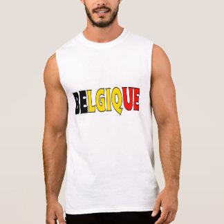 T-shirt Sans Manches Chemise de la Belgique