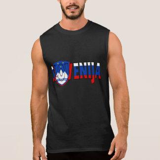 T-shirt Sans Manches Chemise de la Slovénie