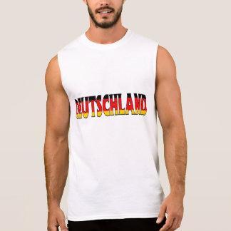 T-shirt Sans Manches Chemise de l'Allemagne