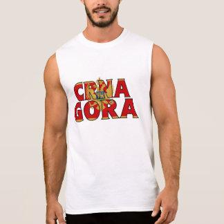 T-shirt Sans Manches Chemise de Monténégro