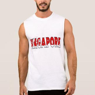 T-shirt Sans Manches Chemise de Singapour