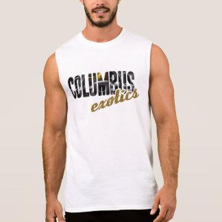 T-shirt Sans Manches Chemise de Sleeveles des hommes