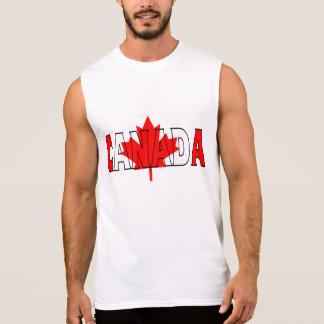 T-shirt Sans Manches Chemise du Canada