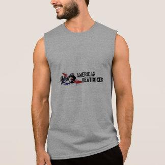 """T-shirt Sans Manches Chemise sans manche """"de Beatboxer d'Américain"""""""