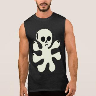 T-shirt Sans Manches Chemise sans manche de fantôme de goutte Trippy de