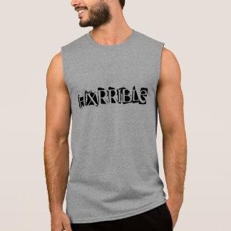 T-shirt Sans Manches Chemise sans manche de HXRRIBLE
