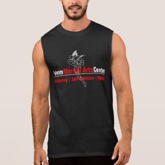 T-shirt Sans Manches Combattant thaïlandais central de Muay d'arts