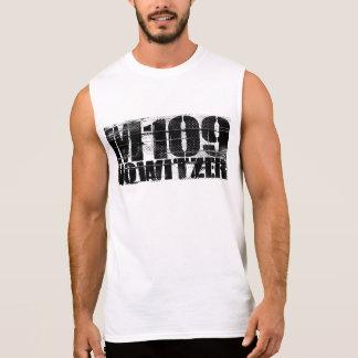 T-shirt Sans Manches De l'obusier M109 des hommes le coton T-Shi sans