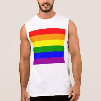 T-shirt Sans Manches Drapeau de gay pride