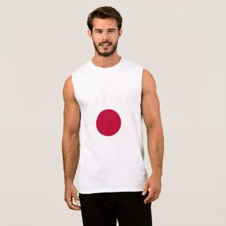 T-shirt Sans Manches Drapeau du Japon