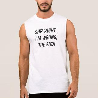 T-shirt Sans Manches Elle a raison !