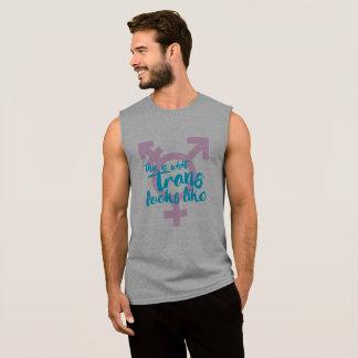 T-shirt Sans Manches Est c'à ce que le transport ressemble - symbole de