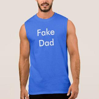 T-shirt Sans Manches Faux papa