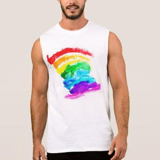 T-shirt Sans Manches Fierté d'arc-en-ciel