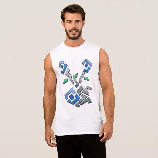 T-shirt Sans Manches Floral Mosaic