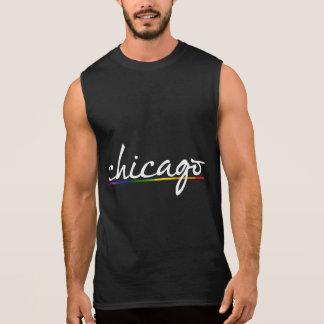 T-shirt Sans Manches GAY PRIDE DE CHICAGO -- .png