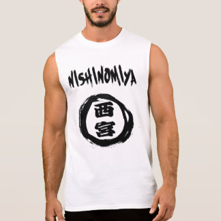 T-shirt Sans Manches Graffiti de Nishinomiya