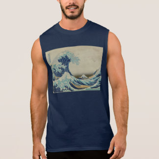 T-shirt Sans Manches Great_Wave_off_Kanagawa2