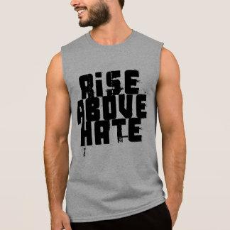 T-shirt Sans Manches Hausse au-dessus de haine