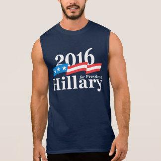 T-shirt Sans Manches Hillary 2016