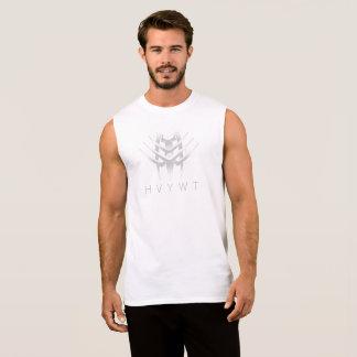 T-shirt Sans Manches HVYWT s'est fané réservoir de muscle de logo