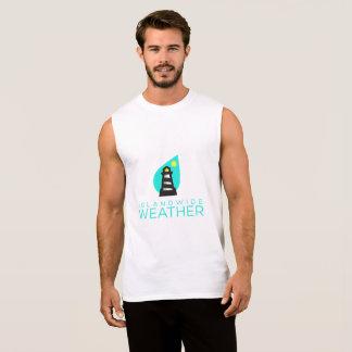 T-shirt Sans Manches La chemise sans manche des hommes au niveau