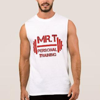 T-shirt Sans Manches La formation personnelle de Mr.T SANCTIFIÉE SOIT