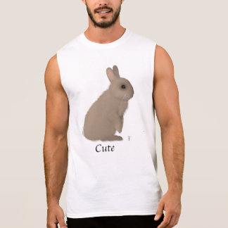 T-shirt Sans Manches Lapin viril