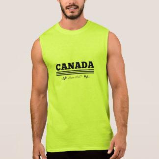 T-shirt Sans Manches Le CANADA depuis 1867