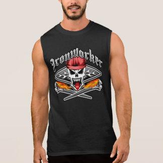T-shirt Sans Manches Le crâne 2,1 et flamber de serrurier sarclent des