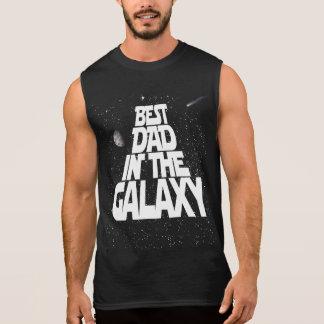 T-shirt Sans Manches Le meilleur papa dans la galaxie