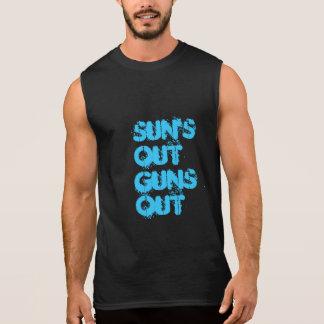 T-shirt Sans Manches Les soleils
