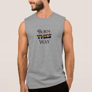 T-shirt Sans Manches LGBT soutenu de cette façon