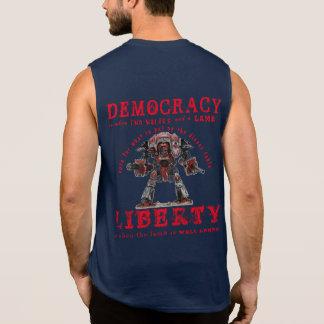 T-shirt Sans Manches LIBERTÉ - nous sommes une république, pas une