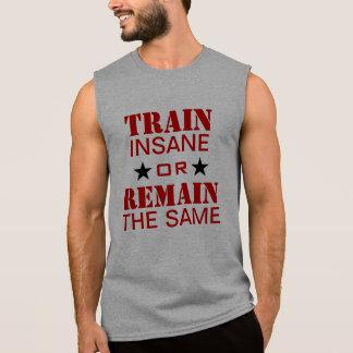 T-shirt Sans Manches Motivation de séance d'entraînement