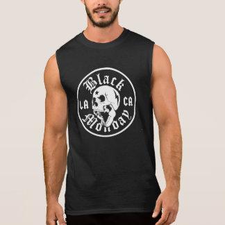 T-shirt Sans Manches Muscle noir T de bowling de lundi