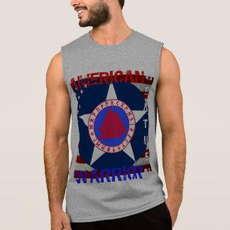 T-shirt Sans Manches Païen américain--L'Armée de l'Air