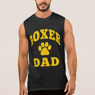 T-shirt Sans Manches Papa de boxeur