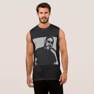 T-shirt Sans Manches Papa de cigare - pièce en t graphique