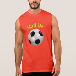 T-shirt Sans Manches Papa du football