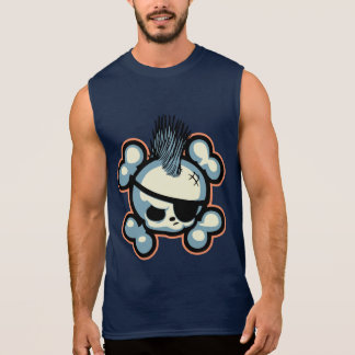 T-shirt Sans Manches Pirate 1113 de Punkin