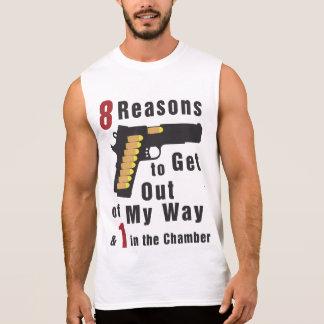 T-shirt Sans Manches Pistolet complètement des balles
