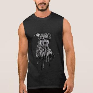 T-shirt Sans Manches Pitbull