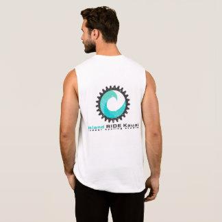 T-shirt Sans Manches Recyclage d'intérieur de pièce en t de muscle