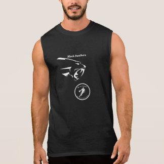 T-shirt Sans Manches Réservoir de panthères noires